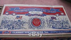 Vintage Giant Classic Toy Soldiers Inc. AMERICAN CIVIL WAR Playset Complete