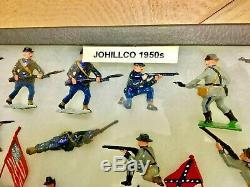 Vintage Johillco Toy Soldiers Civil War EXCELLENT