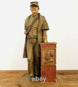 Vtg Tom Clark Signed 1986 Civil War Confederate Soldier 1861-1865 #21 Statue 14
