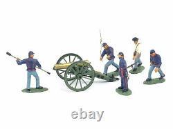 W Britain 17240 American Civil War Regiments Union Artillery Set