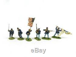 W Britain 17302 American Civil War Clubs Are Trumps 19th Massachusetts