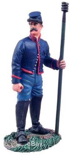 W Britain 31084 Union Artillery Crewman Holding Worm No 1 American Civil War