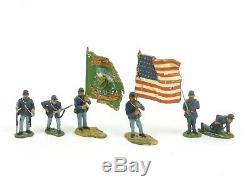 W Britain ERTL Collectibles 17426 American Civil War Soldiers Fight'n Irish