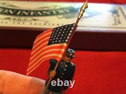 W. Britian Union Infantry #8852 American Civil War 6 Pc Boxed Set MINT
