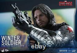Winter Soldier 1/6 Scale Figure Hot Toys Captain America Civil War Sideshow NIB