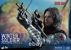 Winter Soldier Bucky Barnes Civil War 1/6 Marvel MMS351 12 Figur Hot Toys