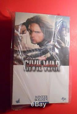 Winter Soldier CIVIL War Mms351 Hot Toys 6th Scale Figure Sideshow Collectibles