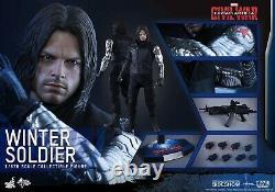 Winter Soldier Hot Toys Captain America Civil War 1/6 Figure